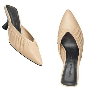 🎈Sigerson Morrison Betsey Leather Mules US 7